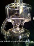Conduites d'eau de fumage en verre de matrice avec le recycleur A029 de l'eau