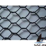 Rede de fio preta da galinha das aves domésticas de Sailin