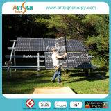 Земной держатель PV отыскивает вилку системы установки вешалки для панелей солнечных батарей