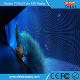 Die-Casting Alquiler exterior de aluminio P10 en la pantalla de LED para la etapa