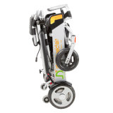 Fábrica ligera del sillón de ruedas de la potencia de la aleación de aluminio D05