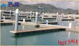 Pontón galvanizado del dique flotante del marco de acero de la INMERSIÓN caliente de la buena calidad