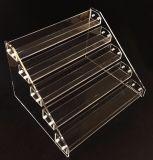 3, 4, 5 rangées effacent l'étalage acrylique d'Ecig