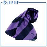 Écharpe faite sur commande de soie d'impression d'écharpe de soie de 100%