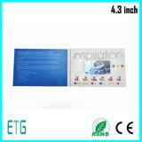 A unidade de 7 polegadas exprime o cartão video do convite do casamento do LCD