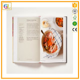 Reliure Couverture rigide de haute qualité Cook Book de l'impression