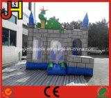 Aufblasbares Drache-Schloss kombiniert, aufblasbarer Drache-federnd Haus, aufblasbarer Clown-Haus-Prahler