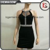 Form-Sleeveless befestigtes römisches Tuch-Kleid des Großhandelspreis-2017 für Damen