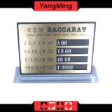 Развлечения казино выделенной таблице чистой меди Bet карты - класс гнезда на заводе форму стиля - Ym LC04