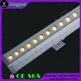 RGB LED 24pcs exterior impermeable de 3W Bañador de pared