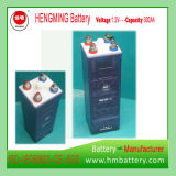 Hengming 1.2V300ah Kpm300 Pocket Typ Nickel-Cadmiumnachladbare Batterie der batterie Kpm Serien-(Ni-CD Batterie)