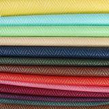 2017の最新の編まれたパターン総合的なPU PVCハンドバッグの革