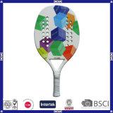 Qualitäts-bunter voller Kohlenstoff-Strand-Tennis-Schläger