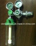 Galleggiare-Tipo Bestselling regolatore medico dell'ossigeno con l'umidificatore O2 per i cilindri di ossigeno