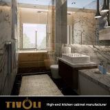 Нестандартная конструкция Tivo-0040vh деревянных шкафов ванной комнаты Veneer