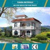 Casas Manufactured da casa de campo da alta qualidade Prefab com sistema de Rcb