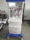 La anestesia médica certificada ISO del ventilador trabaja a máquina