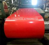 Цвет PPGI покрыл Corrugated листы CGCC толя, Dx51d+Z гофрированная катушка материала толя PPGI покрынная цветом стальная