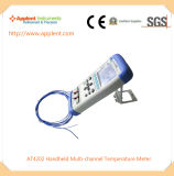 Nagelneuer Mehrkanalthermometer-Handthermometer (AT4208)
