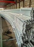 Shed galvanizado de acero Tubería, Caño de efecto invernadero