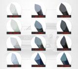 Film métallique r3fléchissant de teinte de guichet de véhicule de contrôle de Sun de 2 plis