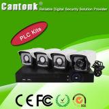 kit Vandal-Proof del PLC della macchina fotografica del CCTV di 720p/1080P P2p HD-IP (PLCD)
