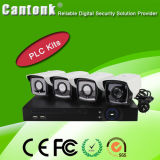 Sicherheit 1080P Vandal-Proof P2p HD-IP CCTV-Kamera PLC-Installationssätze (PLCD)