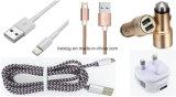 Оптовое цветастое 1.2m 4 в 1 кабеле данным по USB множественного зарядного кабеля USB микро- для высокого качества