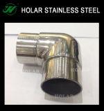 Conector do Corrimão Foshan & Cotovelo & 90 graus do cotovelo em aço inoxidável