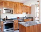 Modernes festes Holz-Küche-Luxuxgerät