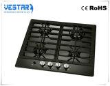 Fresa del gas del bruciatore dell'acciaio inossidabile 4 degli apparecchi di cucina