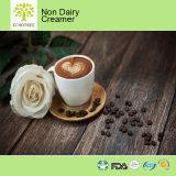 カプチーノの泡立つコーヒークリームの非酪農場のコーヒークリーム