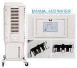 Refrigerador de ar evaporativo portátil do uso do espaço 2017 aberto com água refrigerada