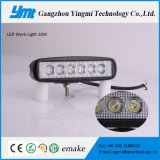 "luz del trabajo de 6 "" 18W LED con IP68 impermeable"