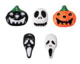 стикер ногтя стикеров искусствоа ногтя воды привидений тыквы 3D Halloween