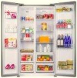 Refrigerador side-by-side do preço de fábrica feito em China com estilo elegante