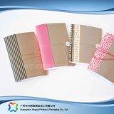 Planejador personalizado do caderno do diário da tampa do papel de embalagem do logotipo A5 (Xc-stn-005)