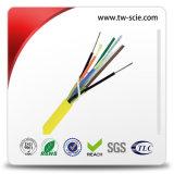 Множественный кабель заплаты проламывания волокон OS2 однорежимный с желтой курткой