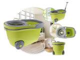 Panier en acier inoxydable Spin Joyclean Mop avec les grandes roues