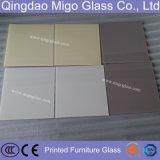 5mm de 6mm de verre de table de la sécurité de couleur pour les tables de restaurant