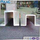 Perfil de aluminio/de aluminio sacado U y canal de C
