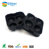 Black Flexible Silicone Ice Ball Espheres Maker Mold