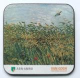 Cuadrado pastoral a todo color de impresión Cork Coaster (CC03)