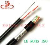 Câble d'acoustique de connecteur de câble de transmission de câble de caractéristiques de câble de téléphone/ordinateur d'Idsl de fil de baisse