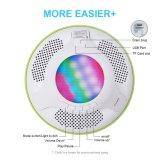 방수 LED 빛을%s 가진 Bluetooth 스피커 4.0 휴대용 뜨 무선 스피커