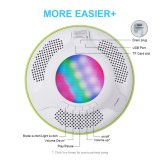 Waterdichte Bluetooth Spreker 4.0 Draagbare Drijvende Draadloze Sprekers met LEIDEN Licht