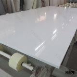 Pietra di marmo artificiale bianca pura del quarzo
