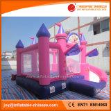 Principessa Inflatable Jumping Bouncy Castle con il giocattolo combinato della trasparenza (T3-710)