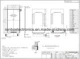 """4.0 """" 480X800, SG affichage MIPI TFT LCD9806e, 25pin pour l'POS, sonnette, médical"""