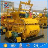 Precio grande industrial del mezclador concreto del automóvil Js500 de la mezcla con exceso de agua